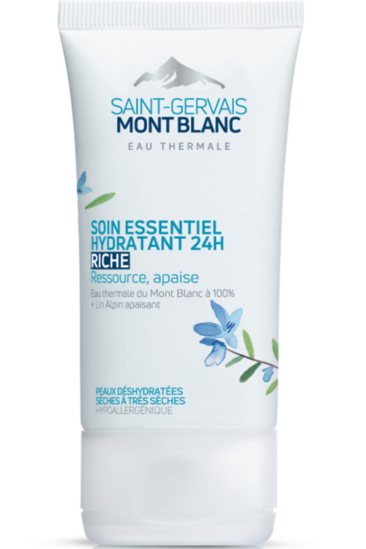 Blissim : Saint-Gervais Mont Blanc - Soin essentiel hydratant 24h riche - Soin essentiel hydratant 24h riche