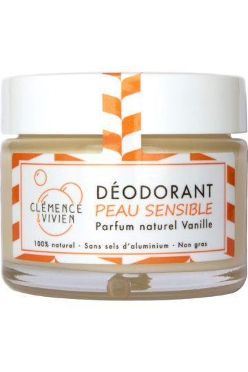 Déodorant  crème vanille