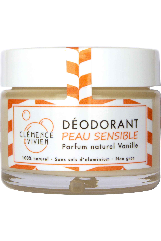 Blissim : Clémence et Vivien - Déodorant  crème vanille - Déodorant  crème vanille