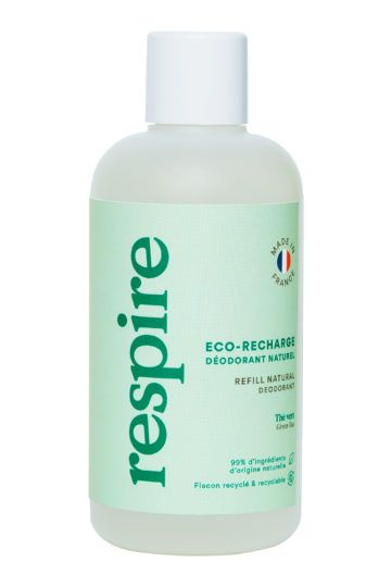 Eco-recharge déodorant naturel roll on thé vert