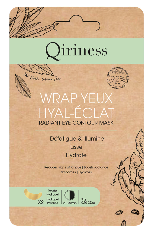 Blissim : Qiriness - Masque wrap yeux Hyal-Éclat - Masque wrap yeux Hyal-Éclat