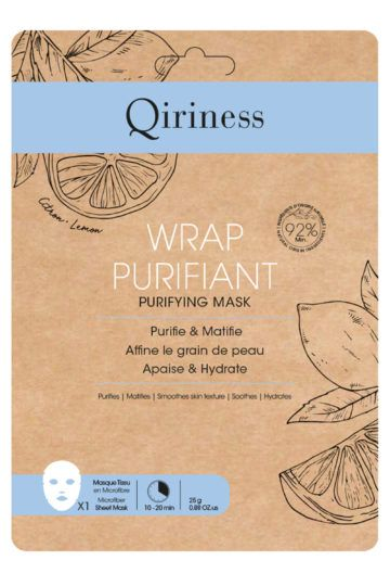Masque wrap purifiant