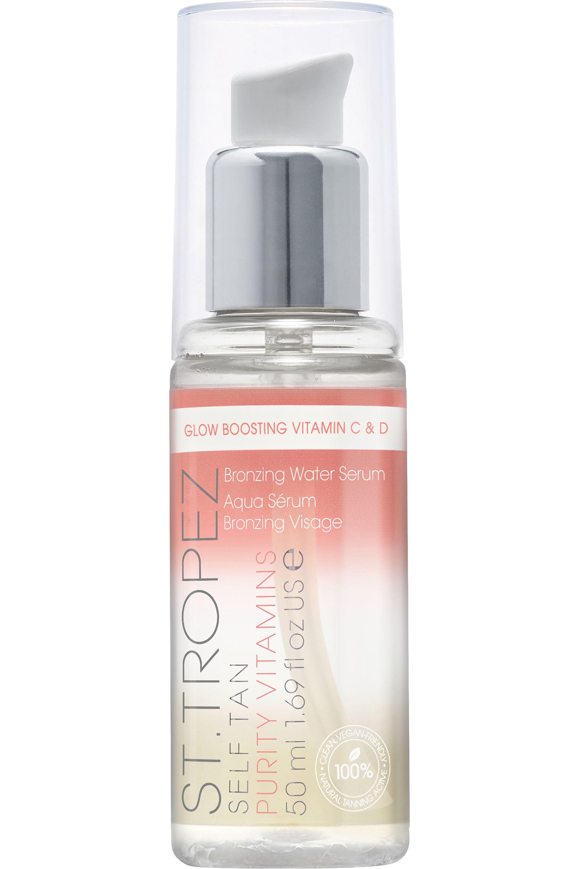 Blissim : St. Tropez - Aqua-sérum bronzant visage Self Tan Purity Vitamins - Aqua-sérum bronzant visage Self Tan Purity Vitamins