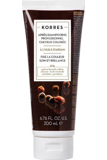 Après-shampooing professionnel post-coloration huile d'Argan