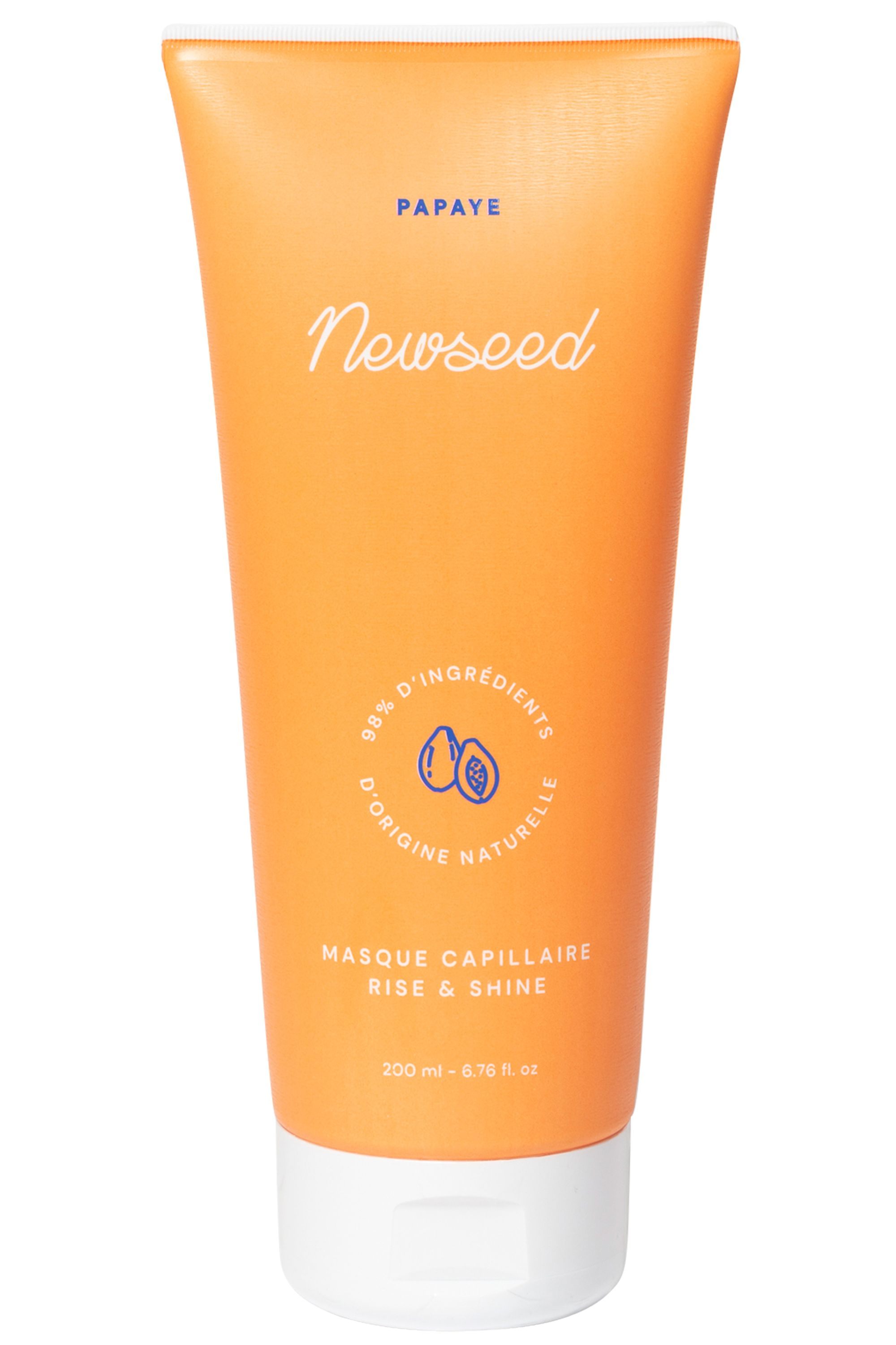 Blissim : NEWSEED - Masque capillaire coco et papaye - Masque capillaire coco et papaye