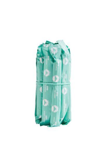 Recharge de 14 tampons hygiéniques avec applicateur en coton bio