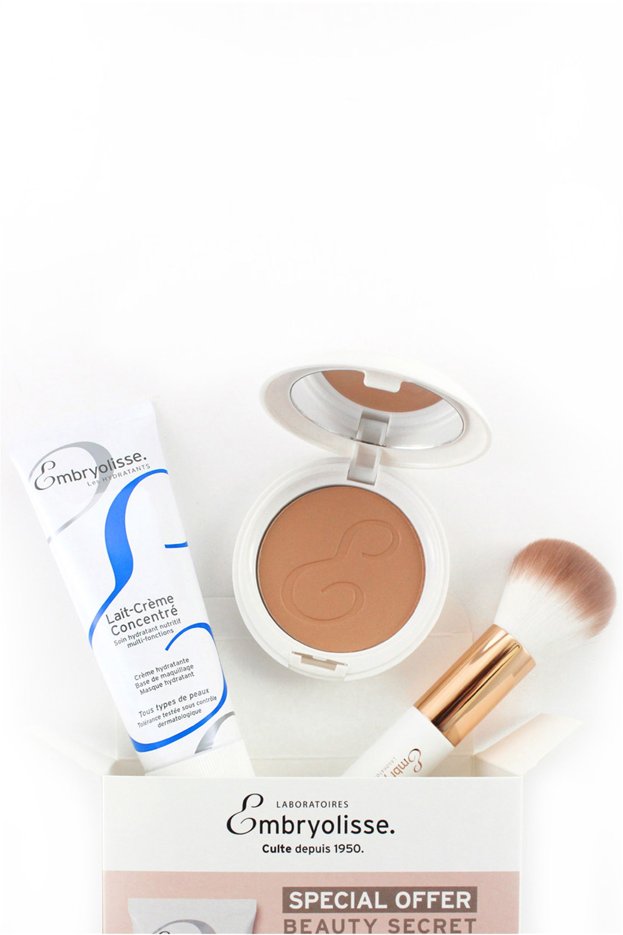 Blissim : Embryolisse - Coffret secret de beauté - Coffret secret de beauté