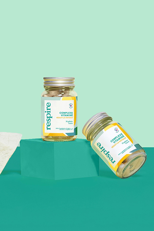 Blissim : Respire - Vitamines naturelles anti-fatigue - Vitamines naturelles anti-fatigue