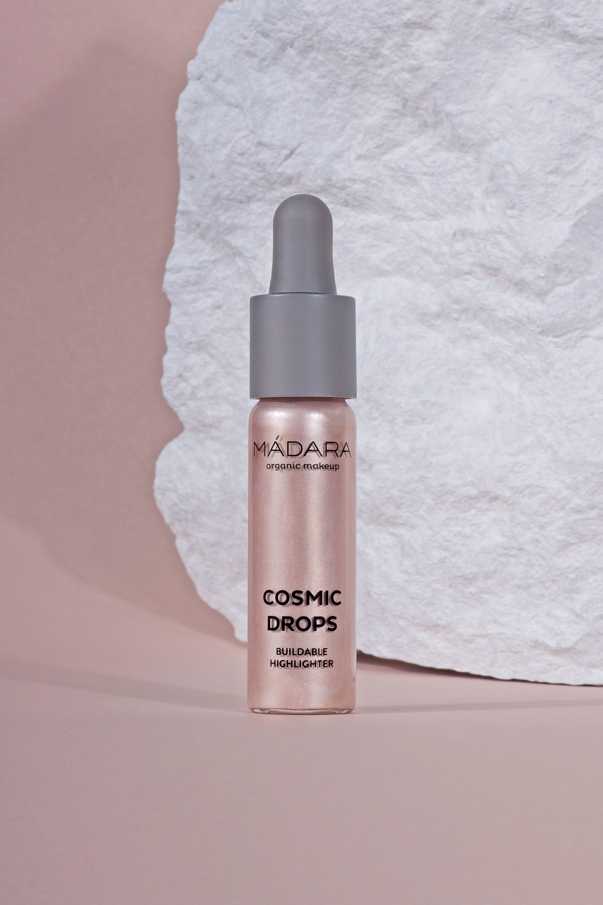 Blissim : Mádara Cosmetics - Highlighter liquide Cosmic Drops - 2 Cosmic Rose