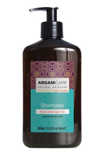 Shampoing nourrissant et hydratant Argan et Karité