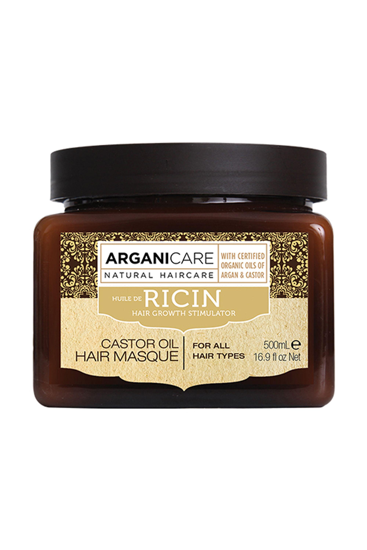 Blissim : Arganicare - Masque renforçateur à l'huile de Ricin Bio - Masque renforçateur à l'huile de Ricin Bio
