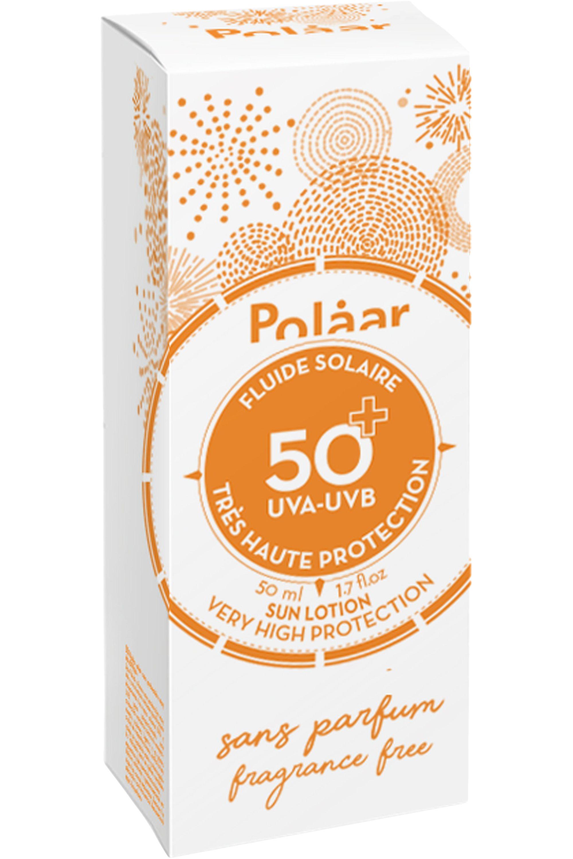 Blissim : Polaar - Fluide solaire SPF 50+ très haute protection sans parfum - Fluide solaire SPF 50+ très haute protection sans parfum