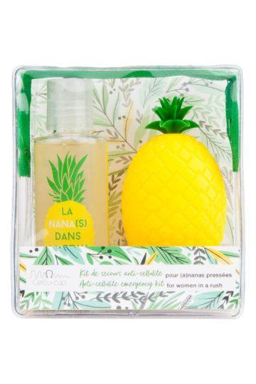 Duo cellu-cup ananas + huile de douche