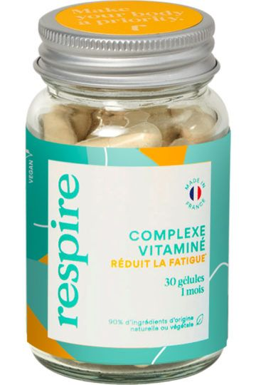 Vitamines naturelles anti-fatigue