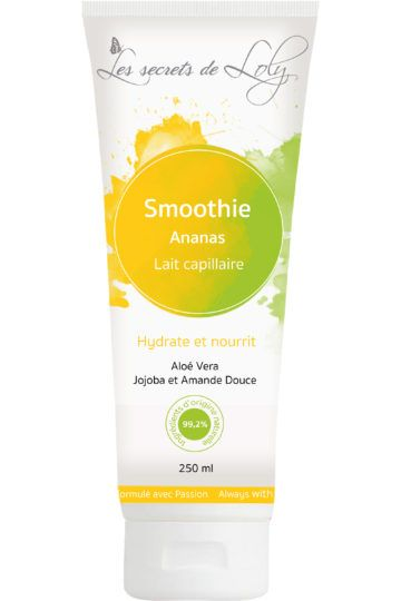 Lait capillaire smoothie Ananas