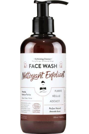 Gel nettoyant exfoliant visage homme Face Wash