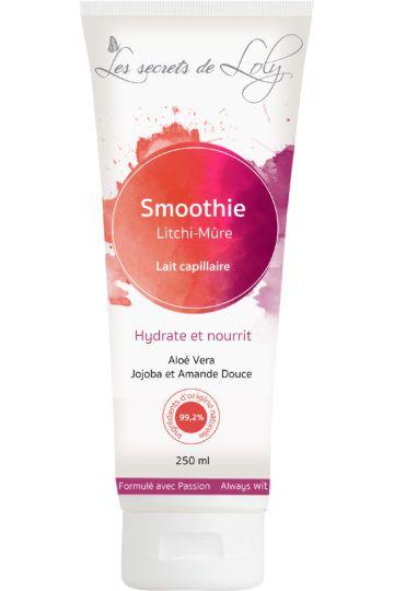 Lait capillaire  smoothie Litchi-mûre
