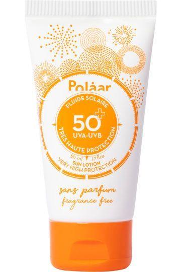 Fluide solaire SPF 50+ très haute protection sans parfum