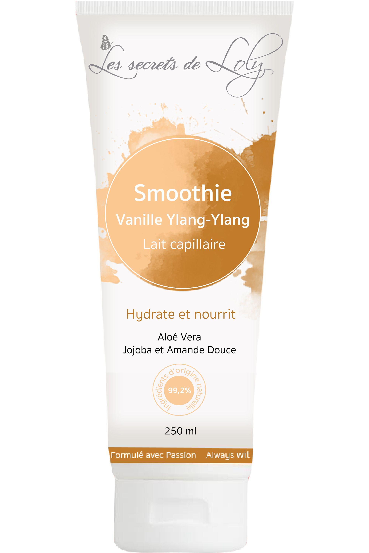 Blissim : Les Secrets de Loly - Lait capillaire smoothie Vanille Ylang-ylang - Lait capillaire smoothie Vanille Ylang-ylang