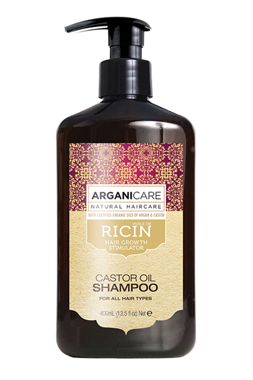 Blissim : Arganicare - Shampooing accélérateur de croissance à l'huile de Ricin Bio - Shampooing accélérateur de croissance à l'huile de Ricin Bio