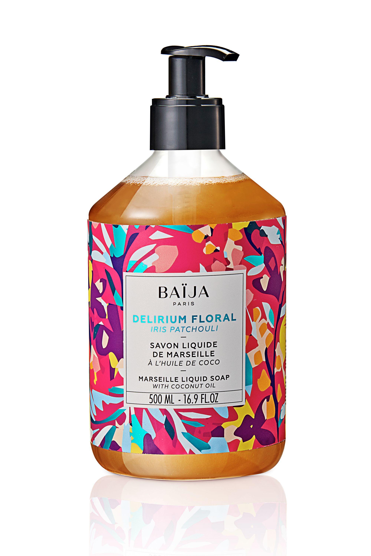 Blissim : Baïja - Savon liquide de Marseille Delirium Floral - Savon liquide de Marseille Delirium Floral