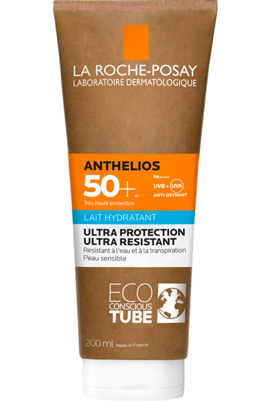 Blissim : La Roche-Posay - Crème solaire lait hydratant sans parfum Anthelios 50+ tube eco responsable - Crème solaire lait hydratant sans parfum Anthelios 50+ tube eco responsable