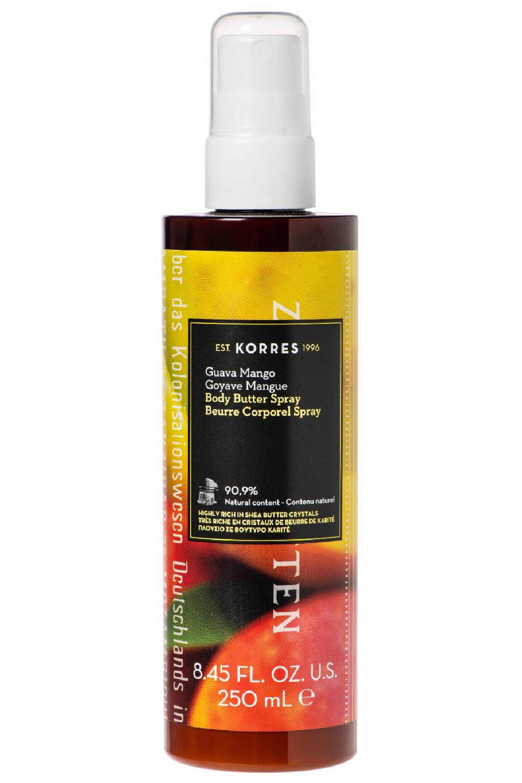 Blissim : Korres - Beurre corps goyave mangue en spray - Beurre corps goyave mangue en spray