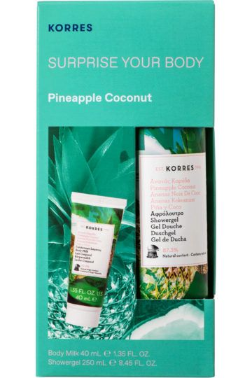 Coffret soins corps Ananas Coco