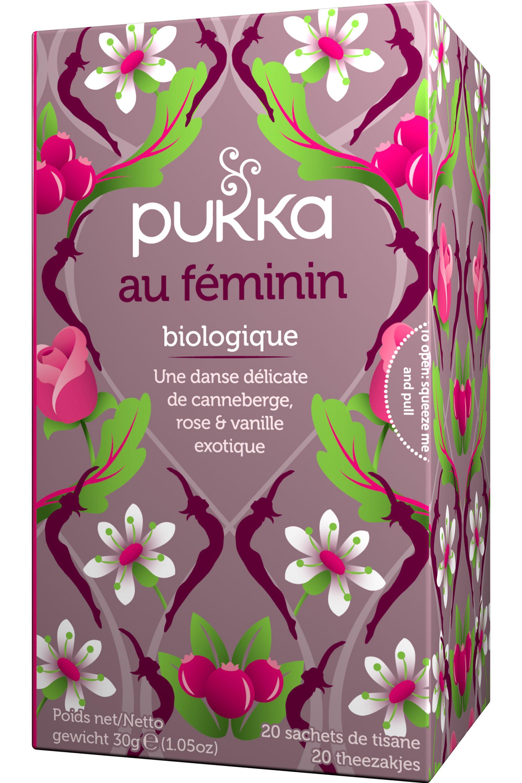 Blissim : Pukka - Infusion Canneberge et rose - Infusion Canneberge et rose