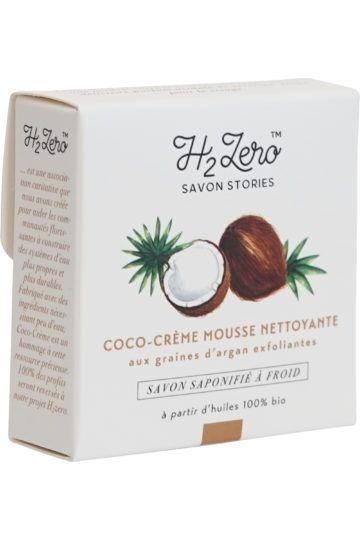 Mousse Nettoyante Exfoliante Coco-crème
