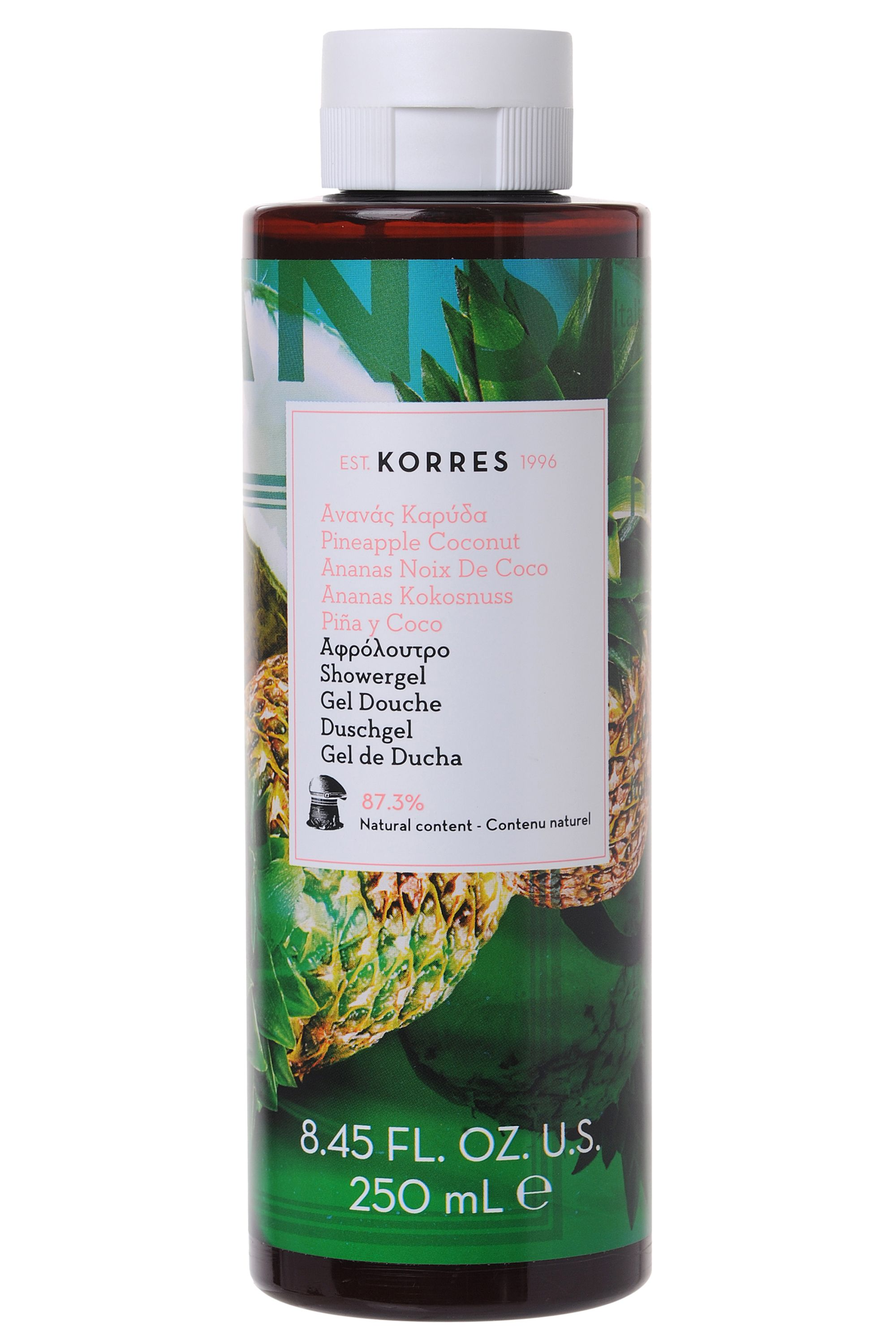 Blissim : Korres - Gel douche Ananas Coco - Gel douche Ananas Coco