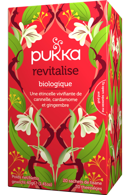 Blissim : Pukka - Thé Revitalise cannelle et gingembre - Thé Revitalise cannelle et gingembre