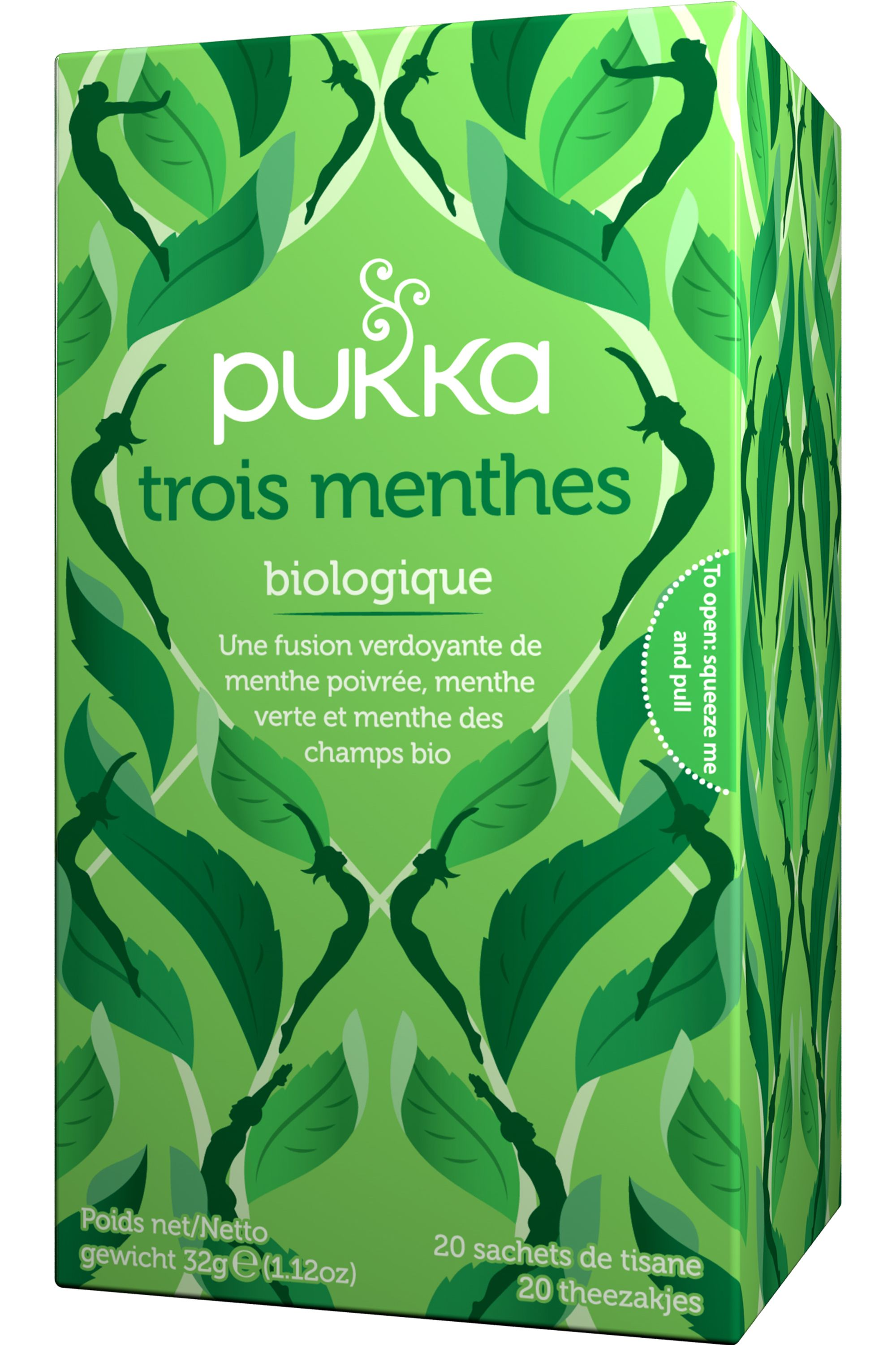 Blissim : Pukka - Infusion Trois menthes - Infusion Trois menthes