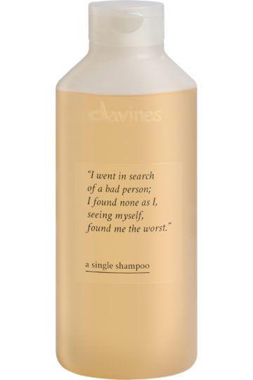 Shampoing A single shampoo