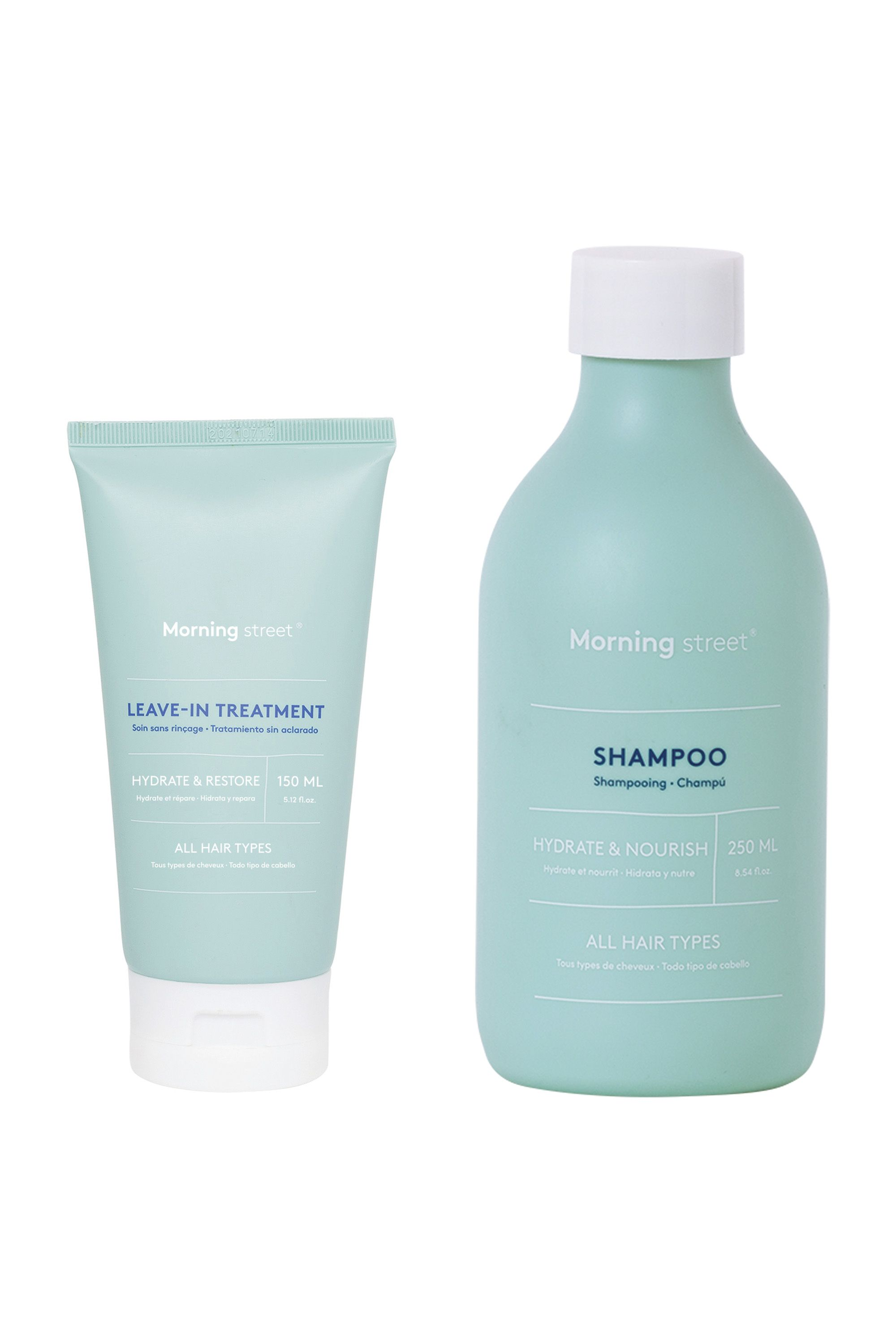 Blissim : Morning Street - Duo shampooing et leave-in treatment - Duo shampooing et leave-in treatment