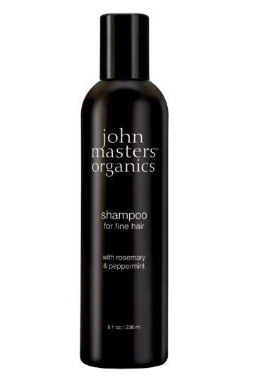 Shampoing pour cheveux fins romarin & menthe poivrée