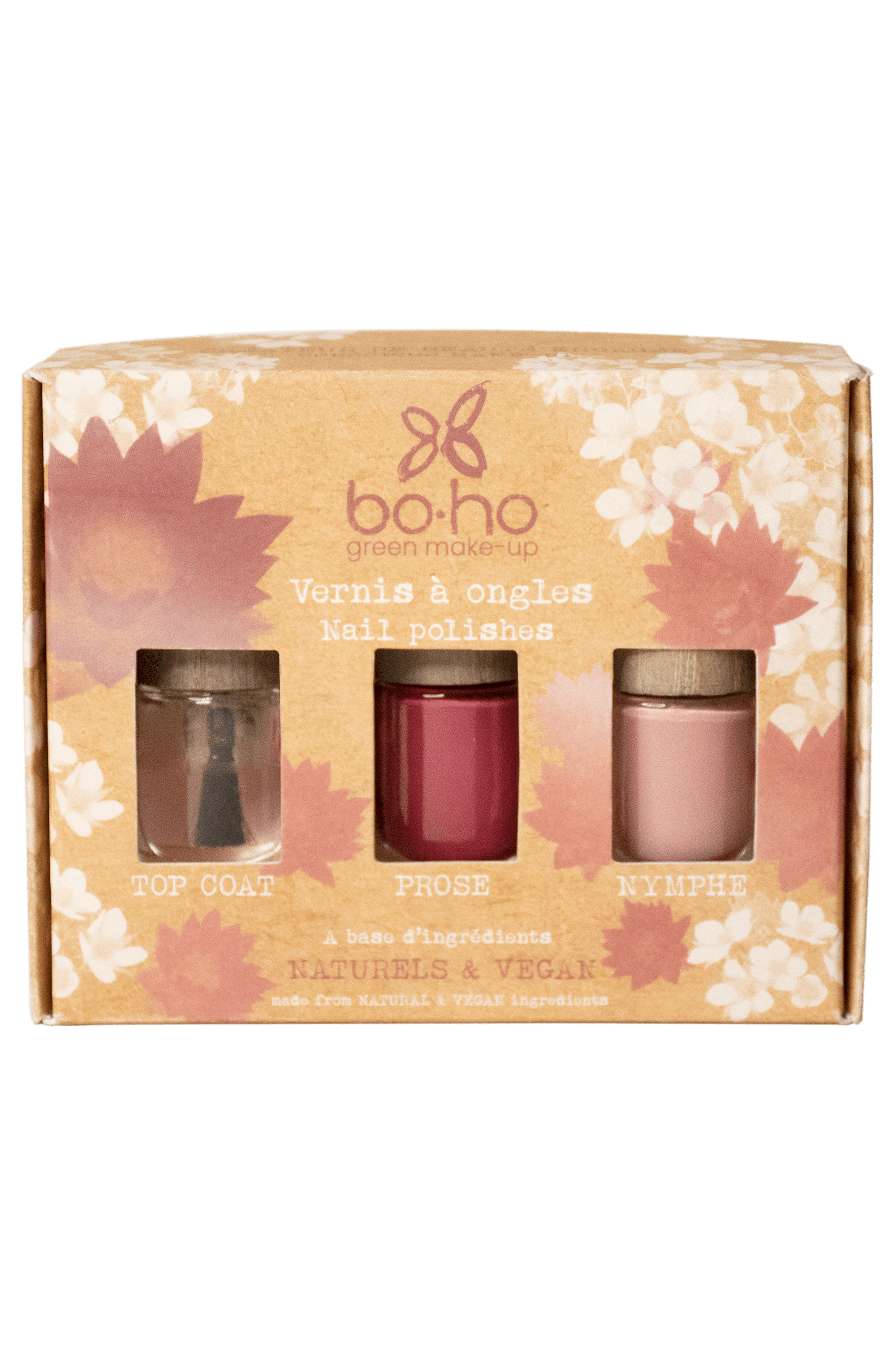 Blissim : Boho - Coffret de vernis Octobre Rose - Coffret de vernis Octobre Rose