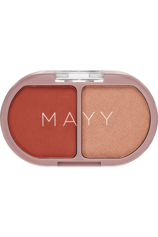 Blissim : Mayy - Palette duo blush/highlighter Happy Corail - Palette duo blush/highlighter Happy Corail