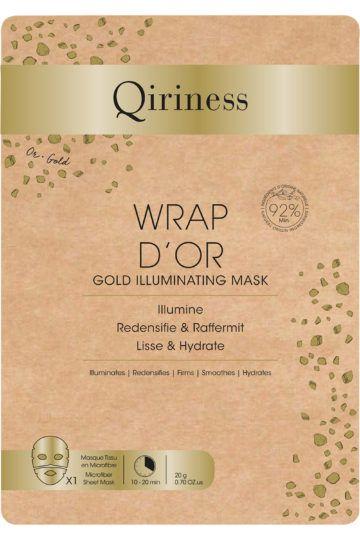 Masque tissu éclat Wrap d'Or