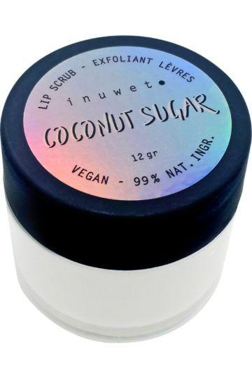 Exfoliant lèvres au sucre & à la noix de coco