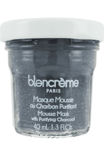 Masque mousse charbon purifiant
