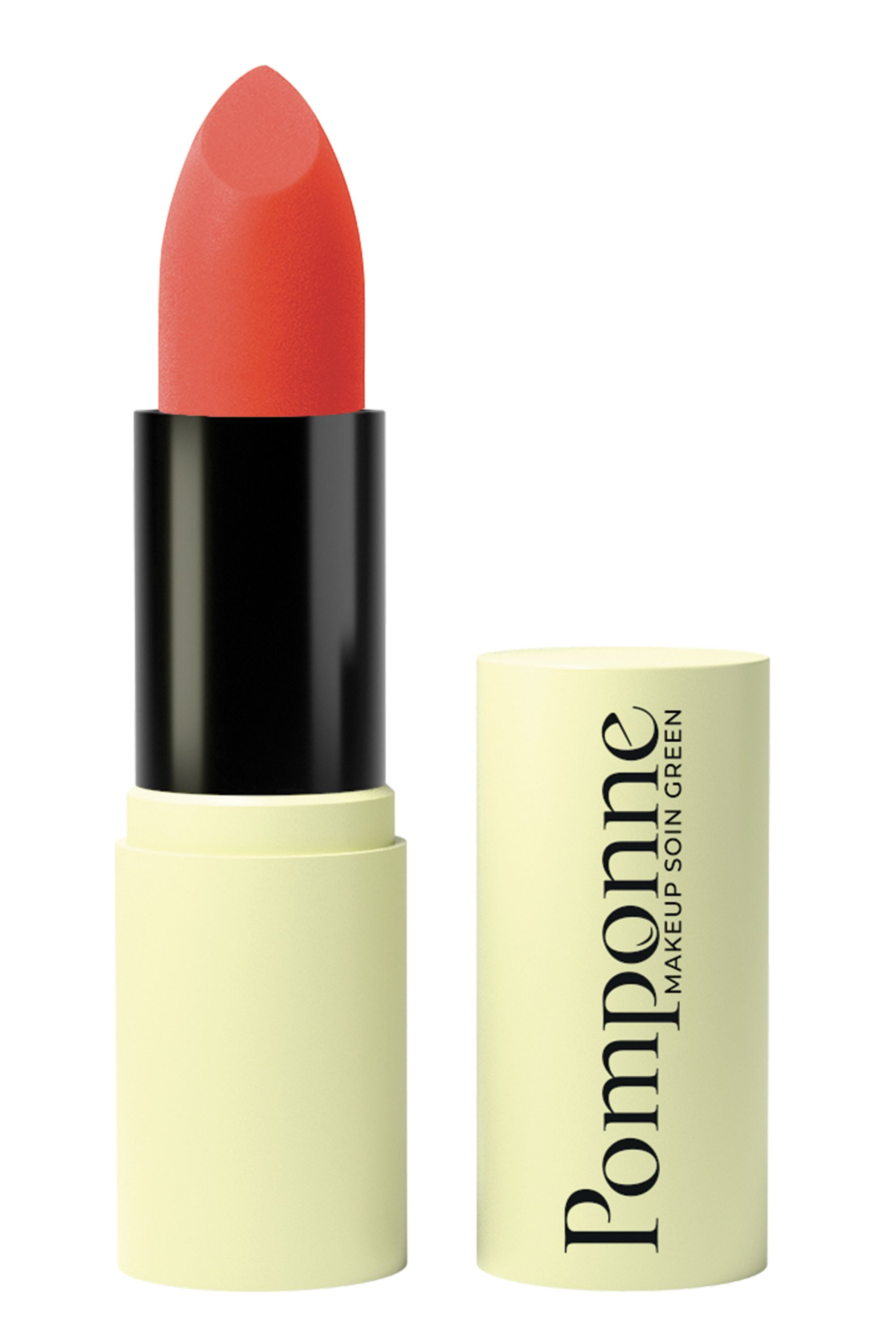Blissim : Pomponne - Rouge à lèvres hydratant, naturel et vegan - 03 – Orange Sixties
