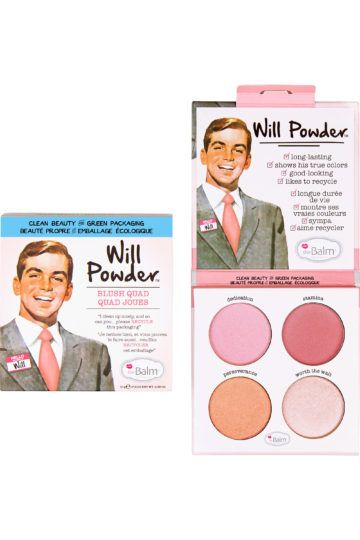 Palette de blush Will Powder Quad