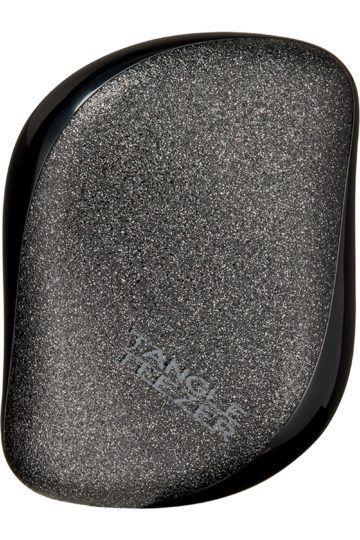 Brosse compact styler noir pailleté