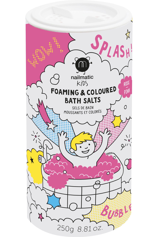 Blissim : Nailmatic - Sels de bain moussants Rose - Sels de bain moussants Rose