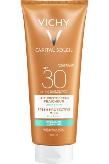 Lait protecteur fraîcheur SPF30 Capital Soleil
