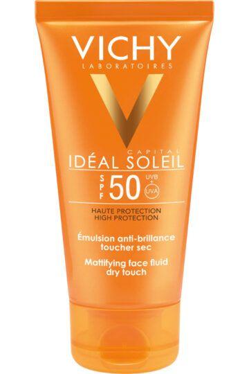Crème solaire visage SPF 50 Idéal Soleil
