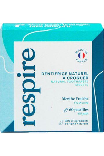 Dentifrice solide à la menthe fraîche