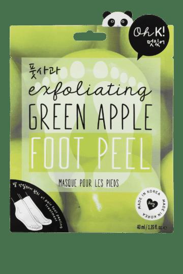 Masque exfoliant pour les pieds pomme
