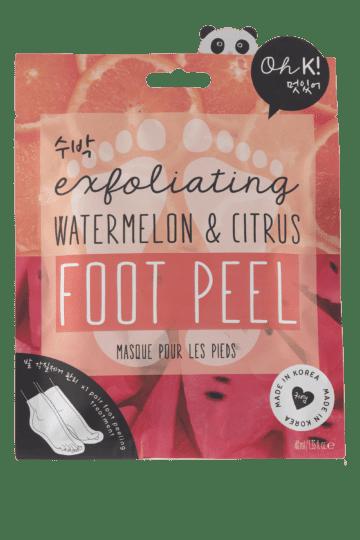 Masque exfoliant pour les pieds pastèque & agrumes